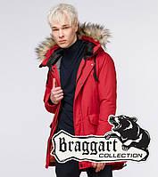 Braggart Youth | Молодежная парка зимняя 13-25 лет 25750 красная, фото 1
