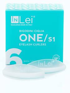 Силиконовые бигуди ONLY1 In Lei 1 пара для ламинирования ресниц Размер - S1
