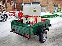 Дезинфекционная установка ДУ 320 на базе легкового прицепа.