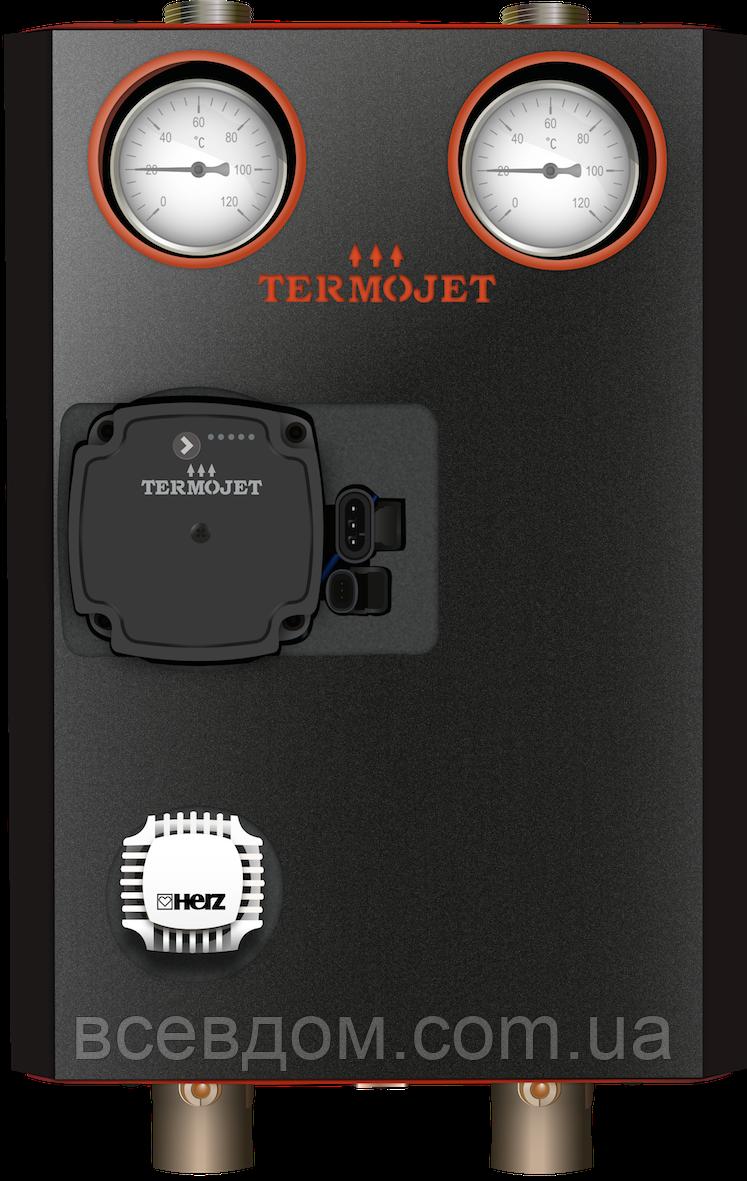 """Насосная группа Termojet - 49 с термокраном 1"""" без насоса"""