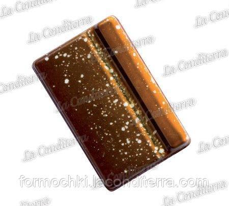Поликарбонатная форма для шоколадных конфет MARTELLATO MA6004 (Прямоугольная фигурная)