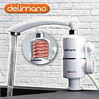 Проточный водонагреватель, электрический кран для мгновенного нагрева воды Delimano