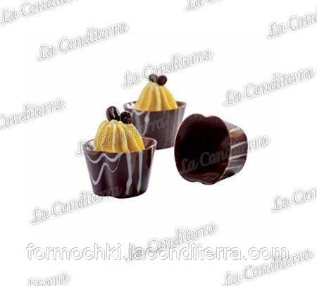 Полікарбонатна форма для шоколадних цукерок MARTELLATO 20GU004