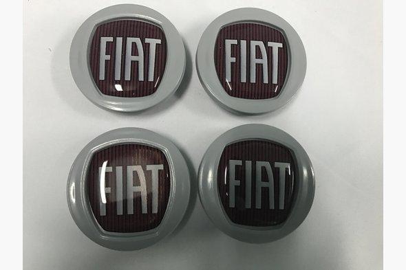 Колпачки в оригинальные диски 49/42,5 мм (4 шт) - Fiat Stilo 2001-2007 гг.
