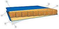 Сэндвич-панель (Минеральная вата) 100мм