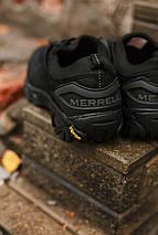 Мужские кроссовки Merrell Черные 741-3  + ПОДАРОК, фото 2