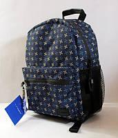 Рюкзак молодежный  (разноцветный,синий) bagland 36*24*14