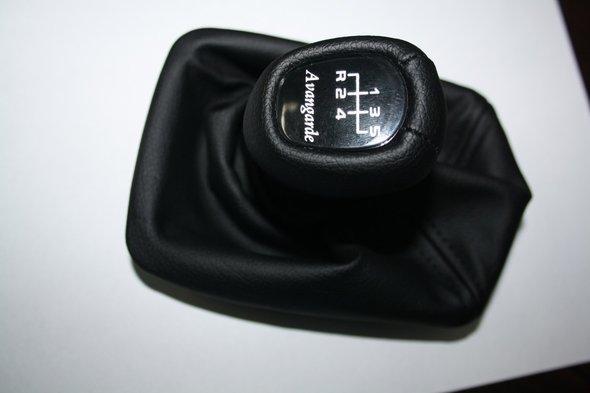 Чехол + ручка КПП с рамкой (avantgarde) - Mercedes E-klass W210