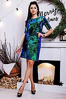 Платье женское с пайеткой в расцветках  34934, фото 1