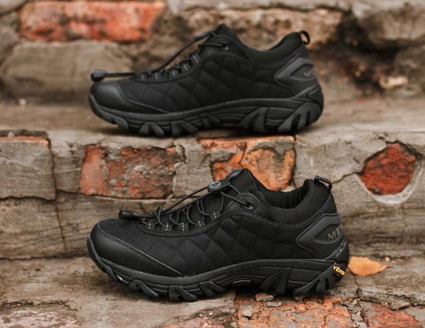 Мужские кроссовки Merrell Черные 741-3