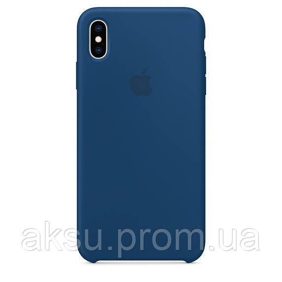 Чехол для iPhone XS Silicone Case Blue Horizon