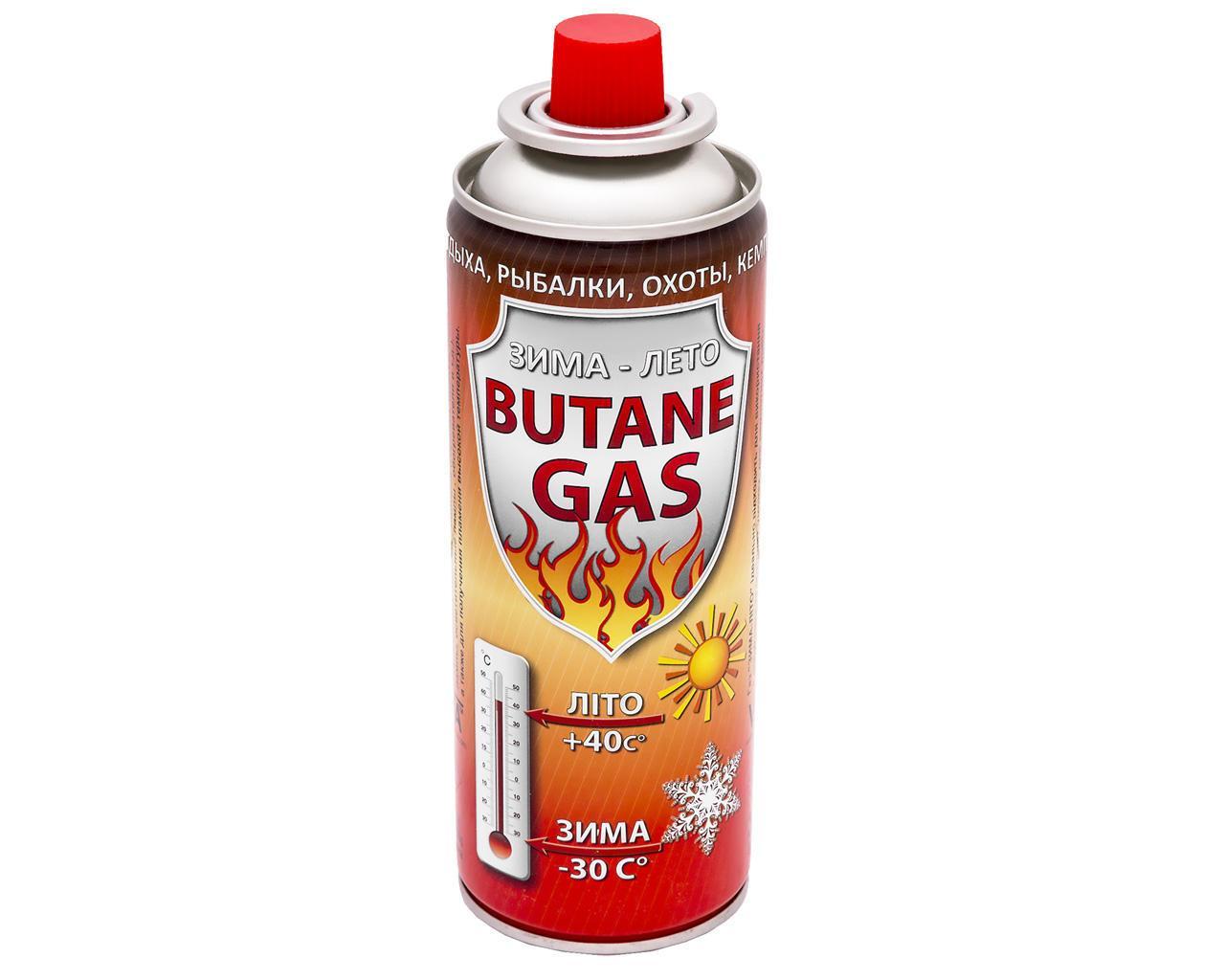 Газовый баллон VITA 220 г красный Украина