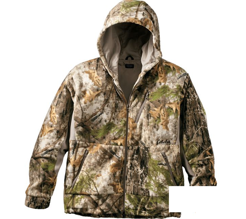 КУРТКА ДЛЯ ОХОТЫ ДЕМИСЕЗОННАЯ CABELA'S MEN'S LEGACY PRO FLEECE™ HOODED JACKET, фото 2
