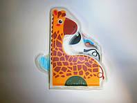 Мягкая книжка с пищалкой для самых маленьких Слоник и друзья, фото 1