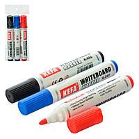 Набор маркеров для доски 3шт (цвета), в кульке, A048