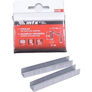 Скобы для мебельного степлера, тип 53// MTX