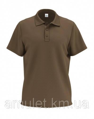 Футболка мужская POLO коричневый