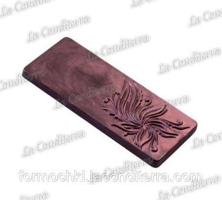 Полікарбонатна форма для шоколаду MARTELLATO MA2004 (шоколадна Плитка)