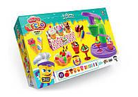 """Набор для творчества """"Тесто для лепки MASTER DO"""" Фабрика мороженого"""", Danko Toys,"""