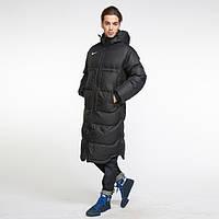 Куртка, парка, футбольное пальто спортивное удлиненное, командные куртки