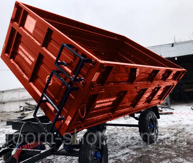 Тракторные прицепы (причіпи) 2ПТС-4