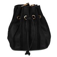 Женская Сумка - Мешок на кулиске Kafa 001 черная
