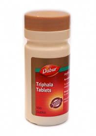 ТРИФАЛА (Triphala) - это высокоэффективное очищающее и омолаживающее аюрведическое средство. 60 таблеток.