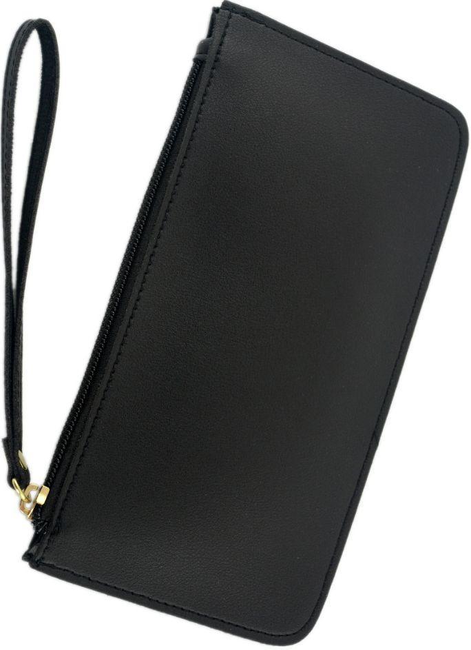 Жіночий гаманець Traum 7204-75 з шкірозамінника, чорний
