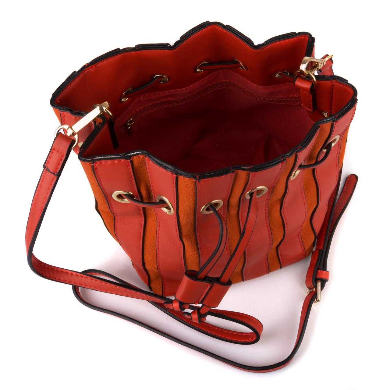 17365fa2 Женская Сумка - Мешок на кулиске Kafa 001 оранжевая: продажа, цена в ...