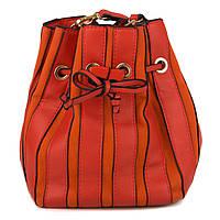 Женская Сумка - Мешок на кулиске Kafa 001 оранжевая
