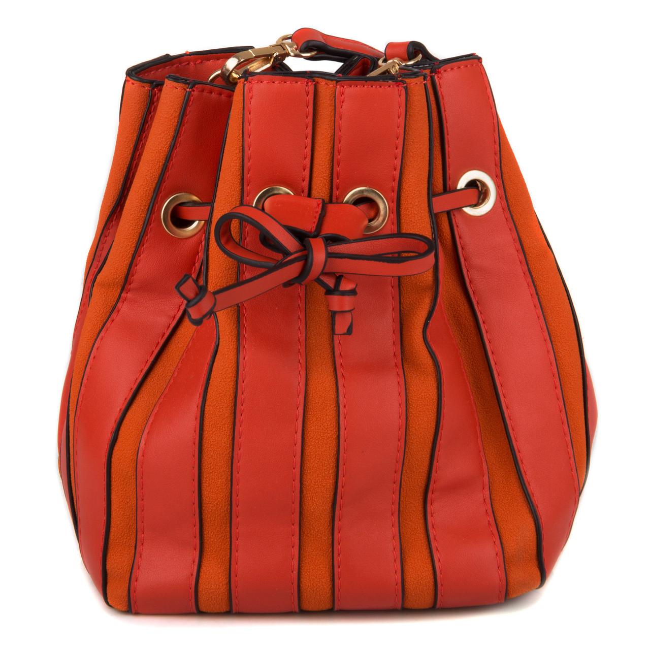 3070b47cfc22 Женская Сумка - Мешок на кулиске Kafa 001 оранжевая: продажа, цена в ...