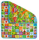 Детский развивающий коврик игровой двусторонний 180х200х0,5 см для детей, фото 2