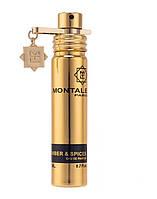 Парфюмированная вода Montale Amber & Spices для мужчин и женщин (оригинал) - edp 20 ml без упаковки
