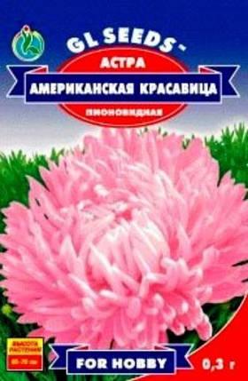 Астра Американская красавица - 0.3г - Семена цветов, фото 2