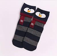 Носки новогодние котоновые