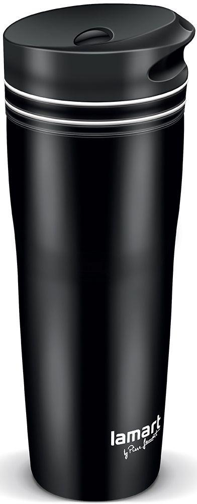 Термокружка 0,36 л Lamart Manq Lt4049 черная