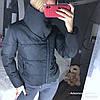 Женская зимняя куртка с высоким воротником на кнопке в расцветках. ДС-43-1118, фото 3