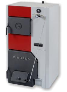 Чугунный котел Viadrus U 24 / 4, 25 кВт. на твердом топливе