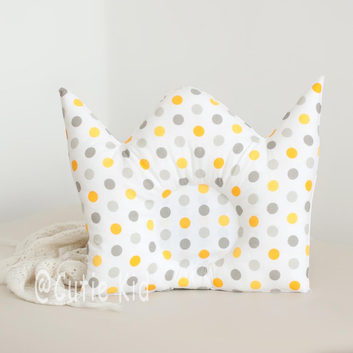 """Подушка для новорожденных """"Корона"""""""