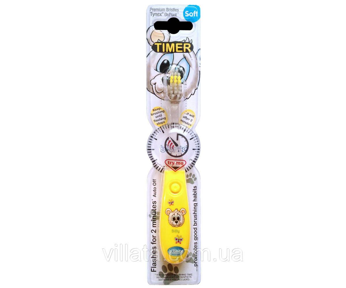 Детская зубная щетка с таймером B:Brite Kids 3+