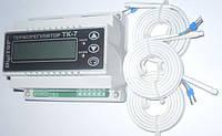 Терморегулятор ТK-7 (цифровой) 4.5А DIN рейка,электрооборудование для дома,регулятор температуры,качество