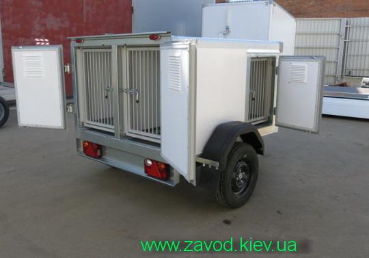 Прицеп для перевозки собак ( 2-3-4 особи)