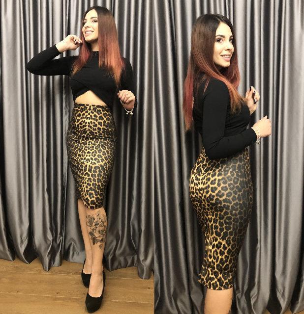 Костюм женский юбка лео+топ 34948  Интернет-магазин модной женской ... 97a63ff4ddb