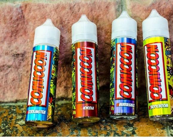 Жидкость для электронных сигарет Comiccon 60ml