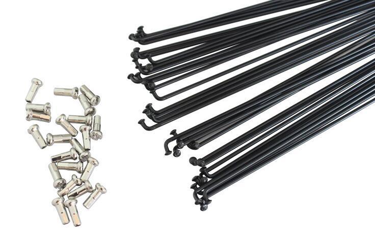 Спиці 275 мм (чорні) SLE