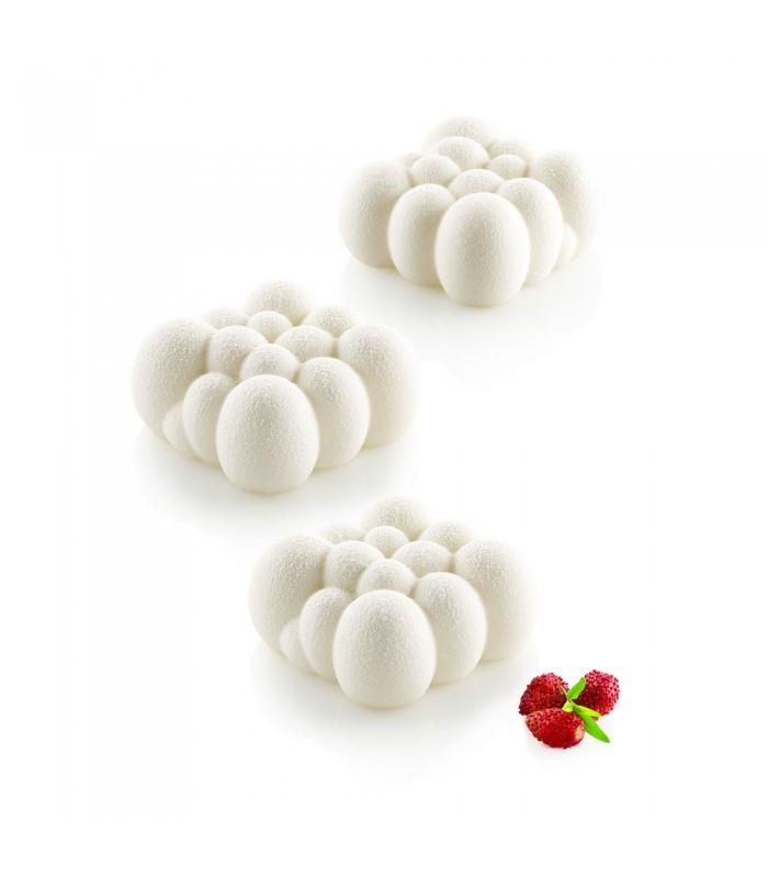 Силиконовая форма для десертов Silikomart CLOUD 120 Италия -06567
