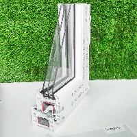 Металлопластиковое окно REHAU Euro-Design 70