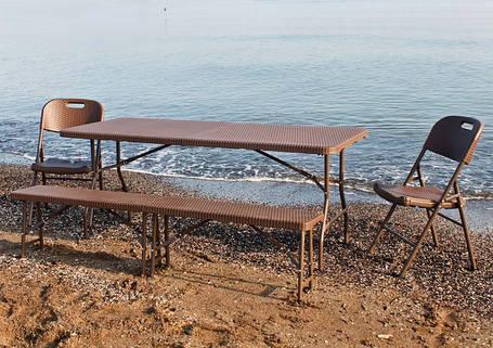 Складные столы для кейтеринга, дома, дачи
