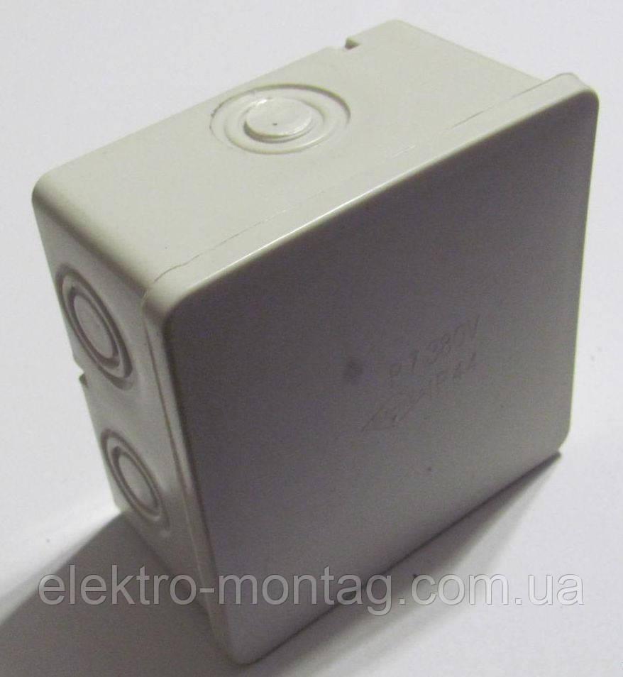 Электрическая распред коробка Р-7, наружная, 95х95х60