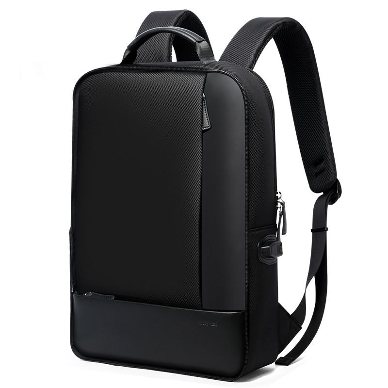 Деловой рюкзак и папка Bopai 2в1 с USB портом и отделением для ноутбука, черный (851-002611)